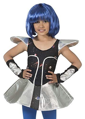 Space Girl Leia Kostüm für Mädchen Gr. 140