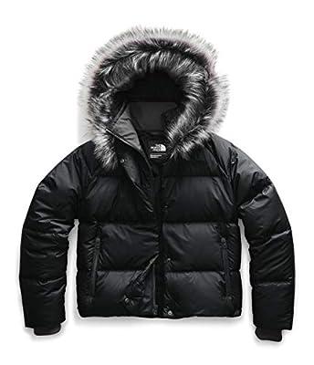 The North Face Women's Dealio Down Crop Jacket, TNF Black, XL