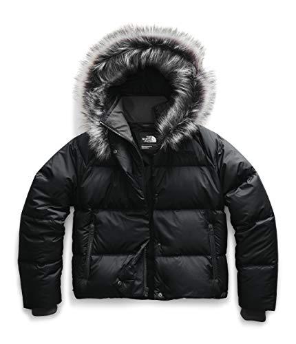 The North Face Women s Dealio Down Crop Jacket, TNF Black, XL