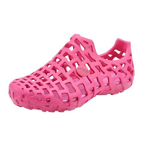 Luckycat Unisex Playa Sandalias del Acoplamiento Zapatillas De Verano Ligeros Zapatillas Mujer Hombre Respirable de la Red del Acoplamiento Zapatillas de Playa Ahueca hacia Fuera Las Sandalias