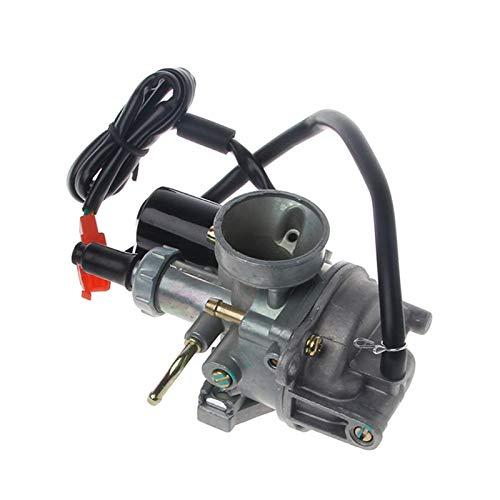 Fashion SHOP Carburador 19MM Carb carburador Compatible con Honda 2 Stroke 50cc DIO 50 18 27 28 SA50 SK50 SYM DD50 SP ZX34 35 Compatible con Kymco Scooter Controlar
