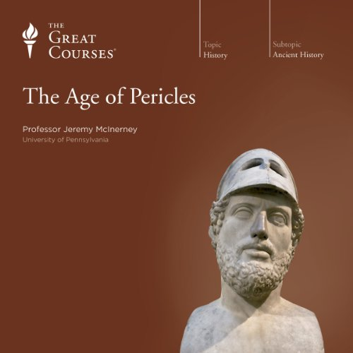 The Age of Pericles audiobook cover art