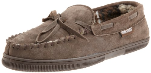 MUK LUKS Men's Paul Slipper Chocolate, 11