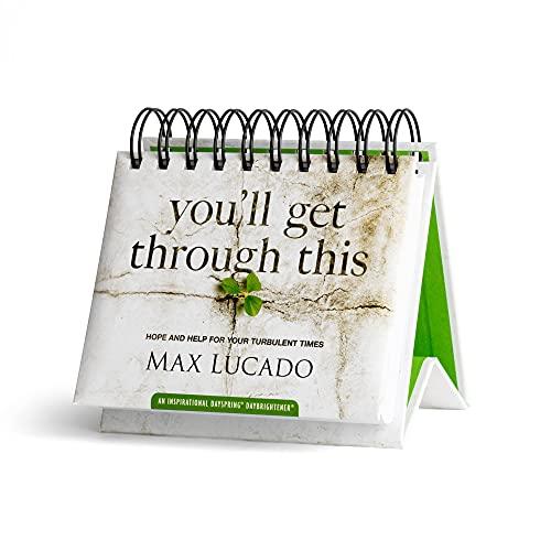 DaySpring Calendário Flip - Max Lucado - Você vai passar por isso - 26083