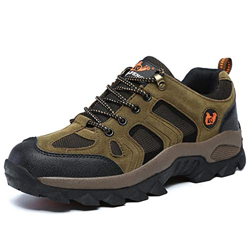 Y-PLAND Couple models outdoor hiking shoes, men and women breathable hiking shoes, non-slip wear-resistant rubber sports shoes-Card_Eu42