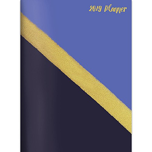 Gold 2019 Monthly Planner
