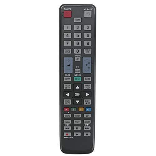 VINABTY AA59-00507A Ersatz Fernbedienung für Samsung TV UE55D6000 UE46D6100SU UE40F5370SS UE55ES6560U UE46D6000TW UE55D6000TW UE32F5300AW UE32F4510AW UE32F4500AW UE55ES6580S UE60ES6100W