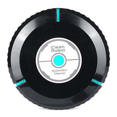 Aspirador inalámbrico recargable elegante automático limpiador for pisos de polvo Sweeper Inicio de vacío limpia W / 20 Negro Libro Blanco de casa inteligente Aspiración (Color: Blanco, Tamaño: un tam
