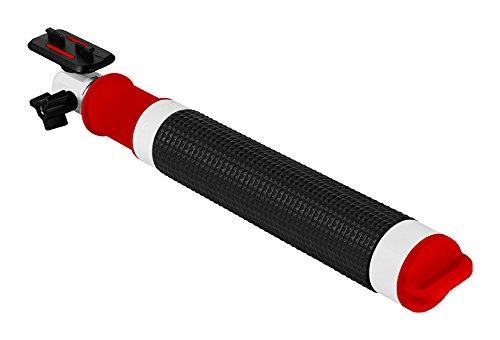 TomTom Asta di supporto per Bandit Action Camera, Nero/Rosso/Bianco