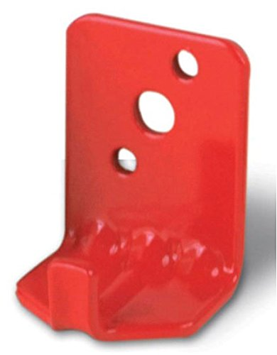 Amerex 16591 - (2 wall hooks) Fire extinguisher wall, hook, mount, bracket, hanger for 5 to 10 pound.  screw and washer included