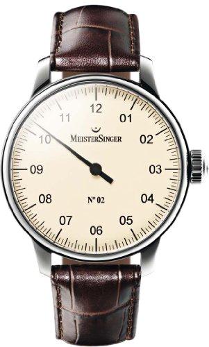 MeisterSinger No 02 Elegante orologio da uomo Design senza tempo