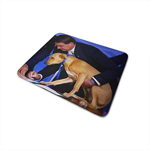 Mouse Pad Bolsonaro assinando Lei Animais