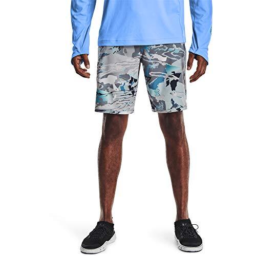 Under Armour Pantalones cortos de hombre Tide Chaser, UA Hydro Camo (995)/Negro, 34