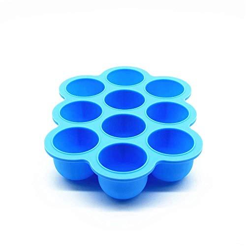 Babynahrung Aufbewahrung Aufbewahrung von Muttermilch und Babybrei, portionierten Einfrieren Babynahrung.BPA FREI(Blau)