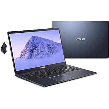 2021 ASUS L510 Ultra Thin Laptop, 15.6″ FHD Display, Intel Celeron N4020 Processor, 4GB RAM, 256 GB Storage, 8Hrs+ Battery Life, Backlit Keyboard, Windows 10 Home + 1 Year Microsoft 365, Star Black