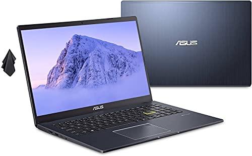 2021 ASUS L510 Ultra Thin Laptop, 15.6' FHD Display, Intel Celeron N4020 Processor, 4GB RAM, 256 GB Storage, 8Hrs+ Battery Life, Backlit Keyboard, Windows 10 Home + 1 Year Microsoft 365, Star Black