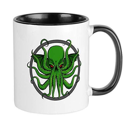 CafePress Cthulhu Rising Mug Unique Coffee Mug, Coffee Cup