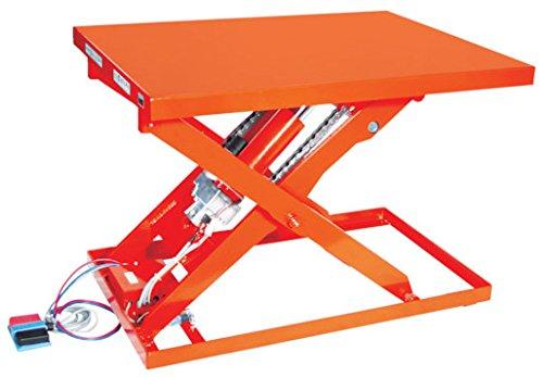トラスコ中山 TRUSCO テーブルリフト500kg 電動BねじDC24V 800×1050