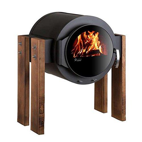 Kaminofen Kanuk® Stand Wood Buche geölt