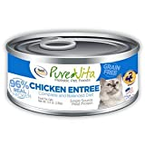 Pure Vita Grain Free Chicken & Chicken Liver Canned Cat Food 12/5.5oz