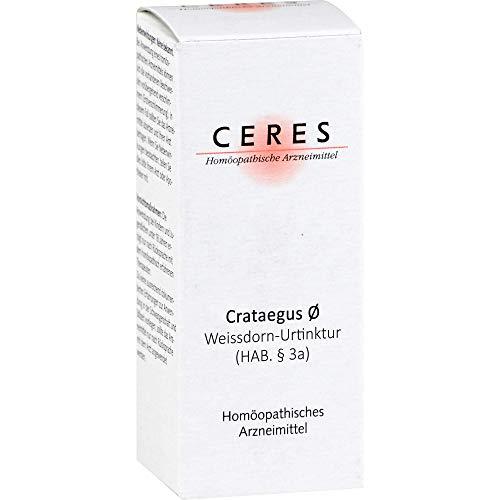 CERES Crataegus ø Urtinktur, 20 ml Lösung