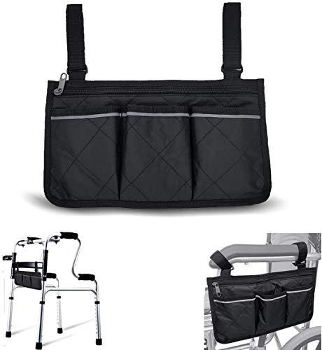 Bolsa de almacenamiento para silla de ruedas, para personas mayores, para ayudas a la...