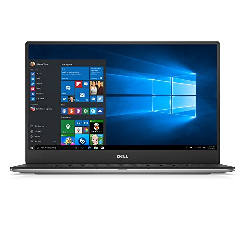 Dell XPS 13 13.3-Inch Laptop (Silver/Black) - (Intel Core i7-6560U, 8 GB, 256 GB, Intel Iris Graphics, BT, QHD InfinityEdge, Touch, Windows 10)