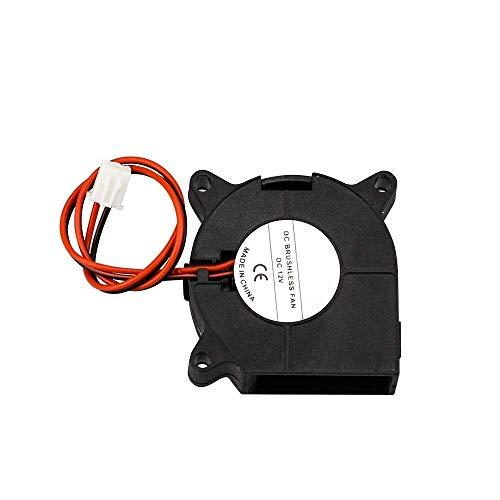 Durable Ventilador Turbo de 1 Pieza, Ventilador de refrigeración 4020 12 V, 40 mm x 40 mm x 20 mm para Impresora 3D, Accesorios de impresión 3D