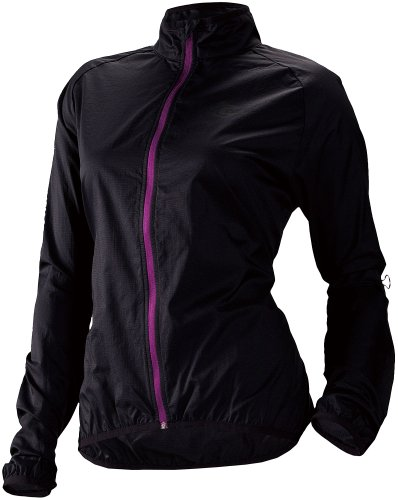 Cannondale Women's Pack Me Jacket, Black, X-Large