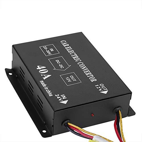 ROSEBEAR 40A 480W Dc 24V a 12V Convertidor de Potencia Reductor de...