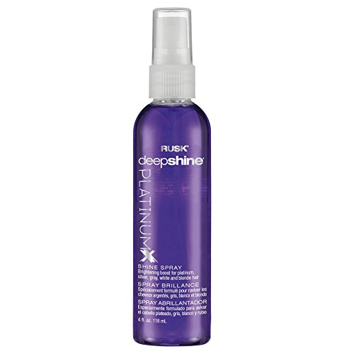 RUSK Deepshine PlatinumX Shine Spray, 4 oz.