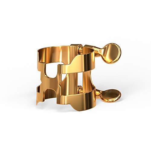D'Addario(ダダリオ)WOODWINDSRICO『HリガチャーB♭クラリネット用ゴールドプレート(HCL1G)』