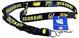 UC Berkeley Golden Bears Key Chain Lanyard Blue