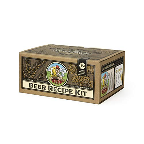 Craft a Brew - Beer Recipe Kit - Oktoberfest Ale - Home Brewing Ingredient Refill - Beer Making Supplies - Includes Hops, Yeast, Malts, Extracts, Sanitizer - 5 Gallons