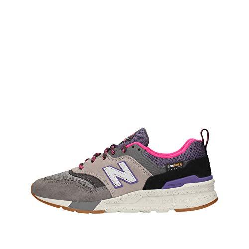 New Balance 997h, Zapatillas Deportivas Mujer, Gris (Grey/Purple), 36.5 EU