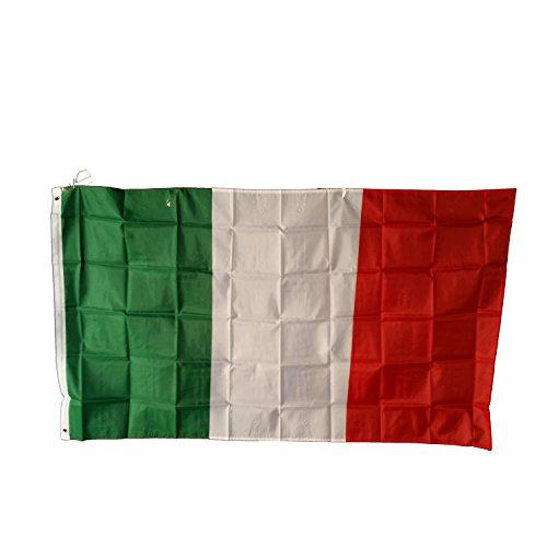 Bevrijdingsdag! Italiaanse vlag, Italië, 150cm bij 90cm, 5 voet bij 3 voet Souvenir! Olympische Spelen Souvenir/Speicher / Memoria! 5' x 3' Polyester voor het vieren van Italiaans erfgoed! Drapeau! / Vlaggen! Bandiera! Bandera!