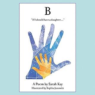 B audiobook cover art