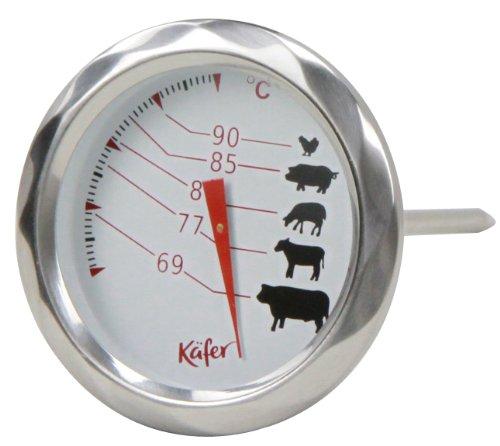 Käfer T404B Braten-Thermometer, analog