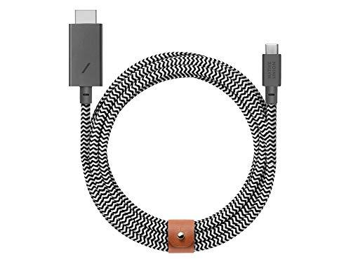 Native Union - Cable USB C a HDMI (3 m), diseño de...