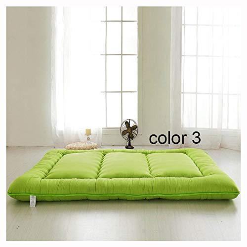 WGXY Candy Color Tatami mat matratze matratze pad Schlafzimmer schlafsofa Stuhl Yoga matratze,#3,1.5x2.0m