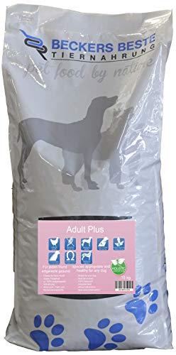 Beckers Beste - Trockenfutter Hund Adult Plus mit Geflügel 15kg - glutenfrei- Junghund, Adult & Senior - Hundefutter große und kleine Hunde-Rassen