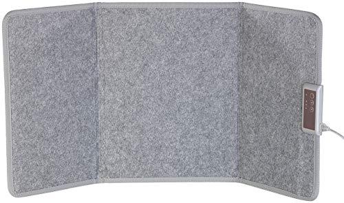 Sichler Haushaltsgeräte Infrarot Panel: Faltbares Fern-Infrarot-Heizpanel, bis 65 °C, 165 Watt, Größe M (Faltbares Infrarot Heizpaneel)