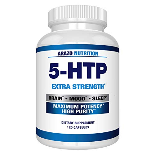 professional 5-HTP 200 MG Plus Calcium Improves Mood, Sleep and Anxiety – Increases Serotonin Production – 99%…