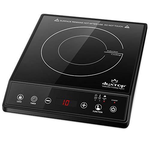 Duxtop Placa de Inducción Portátil, Cocina Electrica Portatil, Placa de Cocción de...