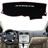 Dashmat Tableau de Bord Couverture Tapis Pad Dash Pare-Soleil Tapis Tapis Accessoires de Voiture moulures intérieures, pour Ford Focus 2 MK2 2005-2011