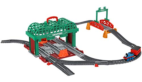 Fisher-Price Thomas & Friends Knapford Station - Starter Push Along Playset Fall