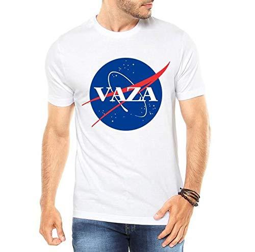 Camiseta Masculina Naza Sátira Engraçadas Divertidas Vaza - Personalizadas/Customizadas/Estampadas/Camisa Blusas Baratas Modelos Legais Loja Online (branco, m)