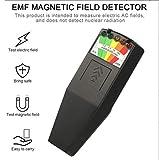 QINAIDI Hand K2 EMF Meter Elektromagnetische Strahlung Felddetektoren, für Übersinnliches Forschung Schädlich Expositionsmaß
