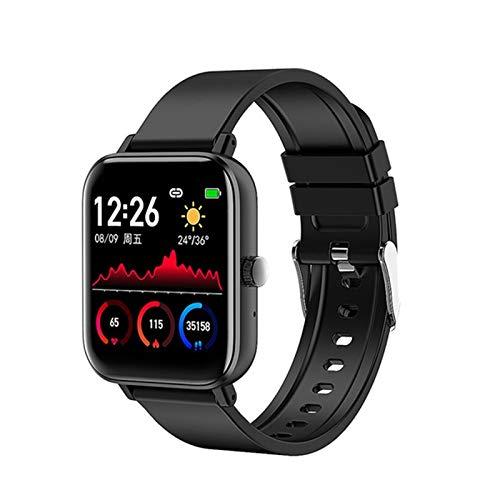 Fransande Smartwatch H8 Fitness Tracker Soporte Presión arterial Oxígeno Reloj Mujeres Hombres Smart Watch ECG Podómetro para Android IOS