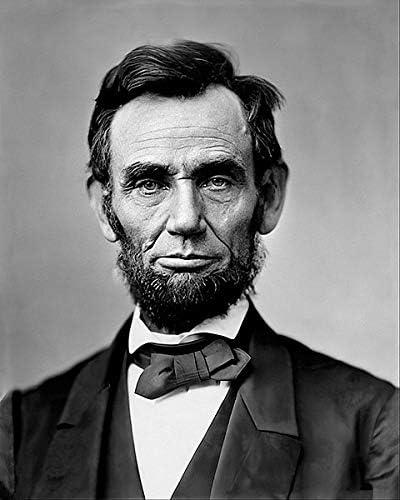 President Abraham Lincoln 1862 Portrait 8x10 Photo L-134